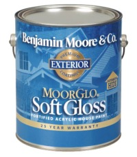Regal select exterior paint moorglo soft gloss finish - Benjamin moore regal select exterior ...
